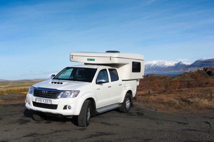 Island rundt i autocamper