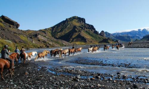 Rideferie til Þórsmörk