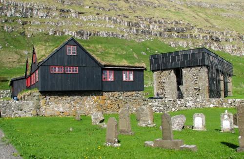 Kirkjubøur. Færøerne.