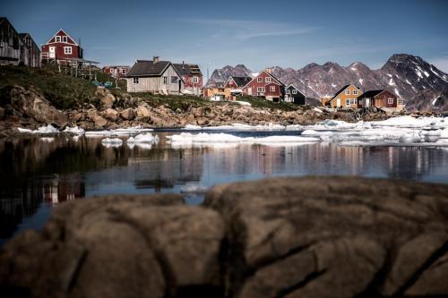 Bygden Tasiilaq i Østgrønland