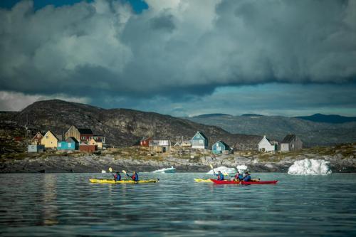 Kajaktur i Østgrønland