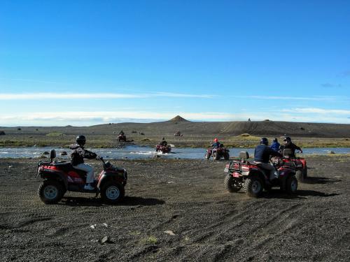 ATV på Sólheimasandur