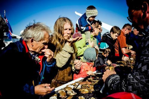 Sejltur på Breiðafjörður. Viking Sushi.