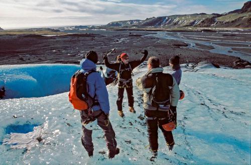 Gletsjervandring udflugt fra Reykjavik.
