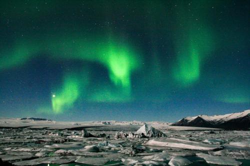 Nordlys er et naturfænomen.