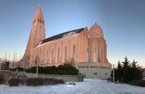 Hallgrímskirkjan i Reykjavik