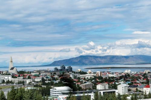 Reykjavik. Udsigt fra Perlan