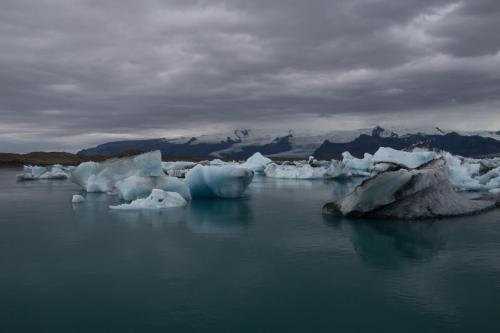 Jökulsárlón gletsjer lagune