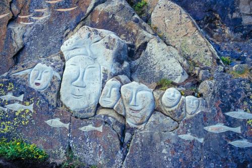 Inuit kunst i Qaqortoq